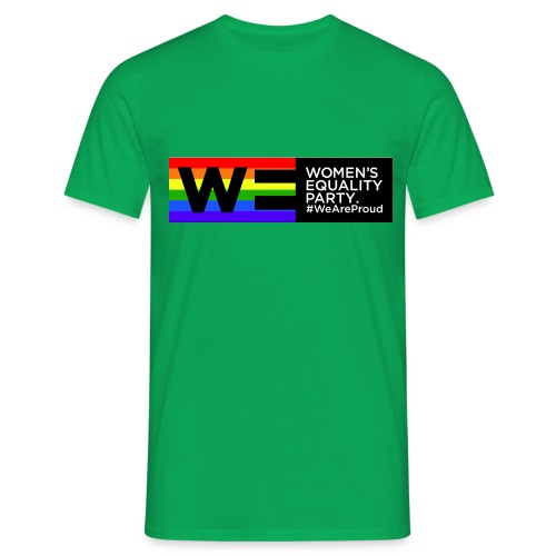 WE Pride t shirt - Men's T-Shirt