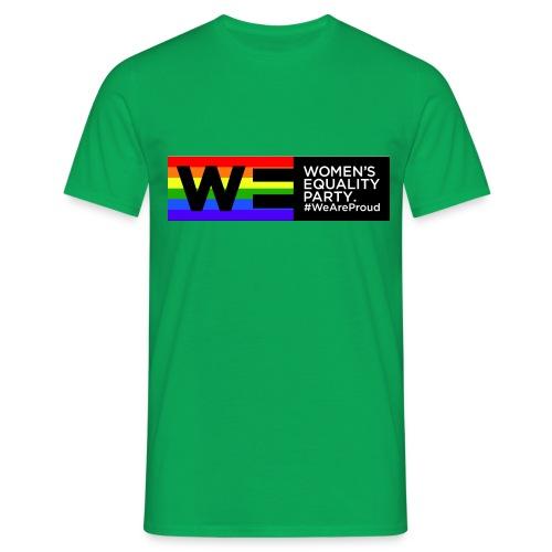 WE Pride t shirt - Men's T-Shirt