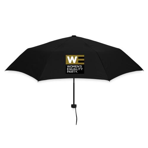 Gold logo umbrella - Umbrella (small)