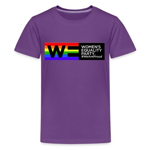 WE Pride t shirt  Teenager - Teenage Premium T-Shirt