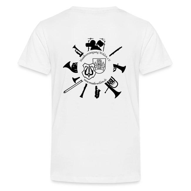 Schülerkapelle T-Shirt personalisierbar