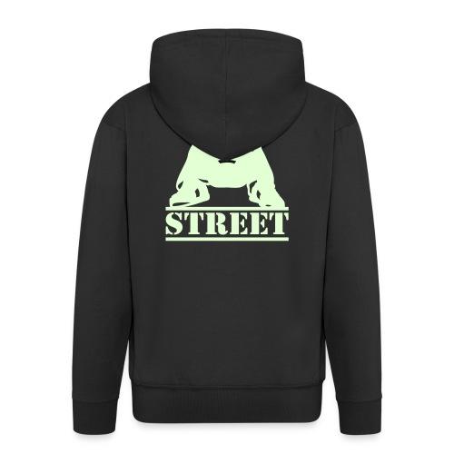 STREET - Männer Premium Kapuzenjacke