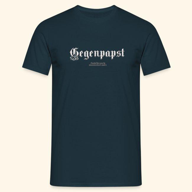 witziges Sprüche T Shirt Gegenpapst