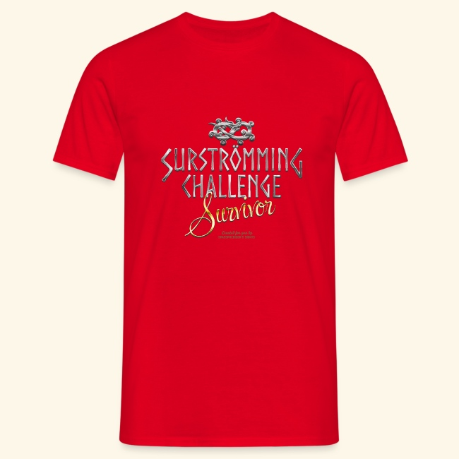Surströmming Challenge Survivor T Shirt