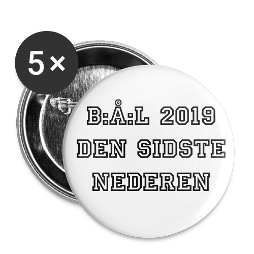 2019 Badge - Buttons/Badges stor, 56 mm (5-pack)