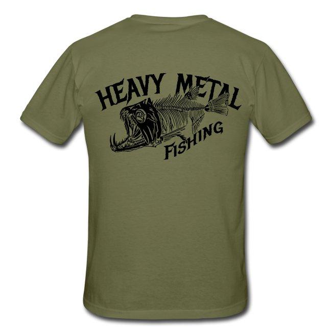 T-Shirt Heavy Metal Fishing