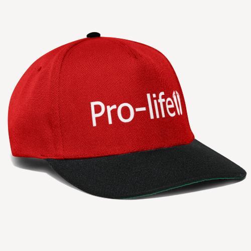 PRO-LIFE - Snapback Cap
