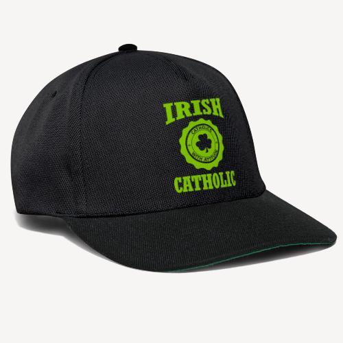 IRISH CATHOLIC - Snapback Cap