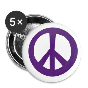 peace badge - Buttons large 56 mm
