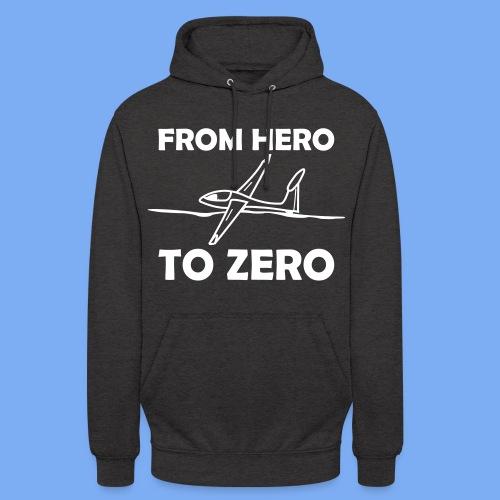 König der Außenlandung - Segelflieger T-Shirt - Unisex Hoodie
