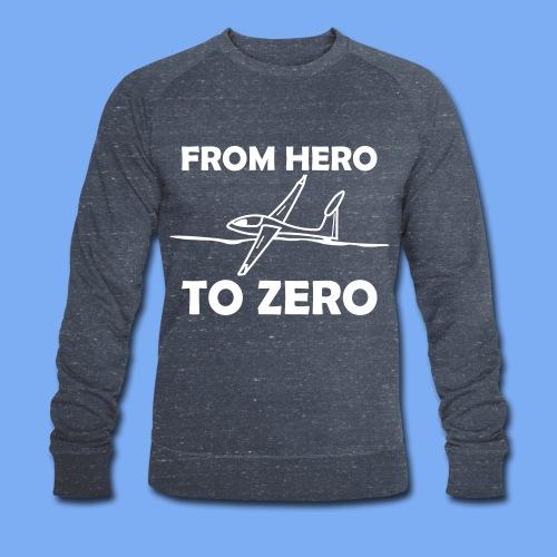 König der Außenlandung - Segelflieger T-Shirt - Männer Bio-Sweatshirt von Stanley & Stella