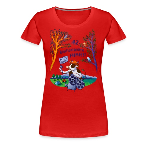 Frauen T-Shirt Rundhals 2019 - Frauen Premium T-Shirt