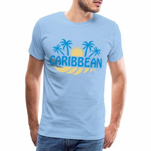 Caribbean  - Men's Premium T-Shirt