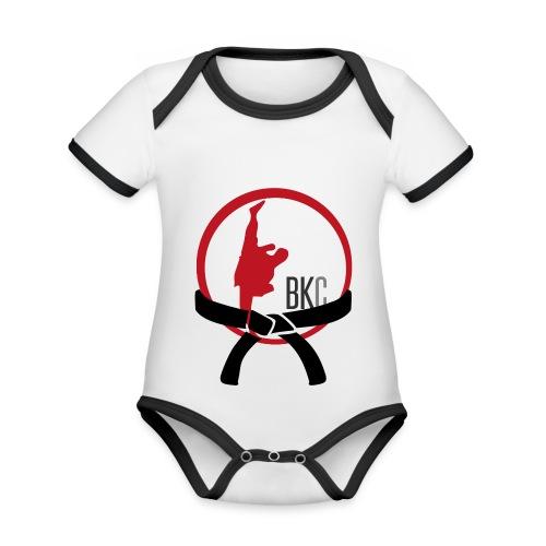 Black Belt In The Making - Organic Baby Contrasting Bodysuit