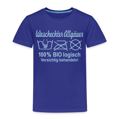 Waschechter Allgäuer - Kinder Premium T-Shirt
