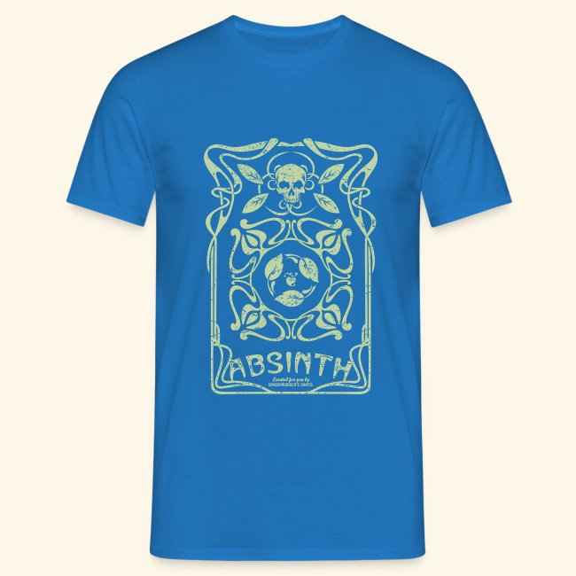 Absinth T Shirt Art Deco