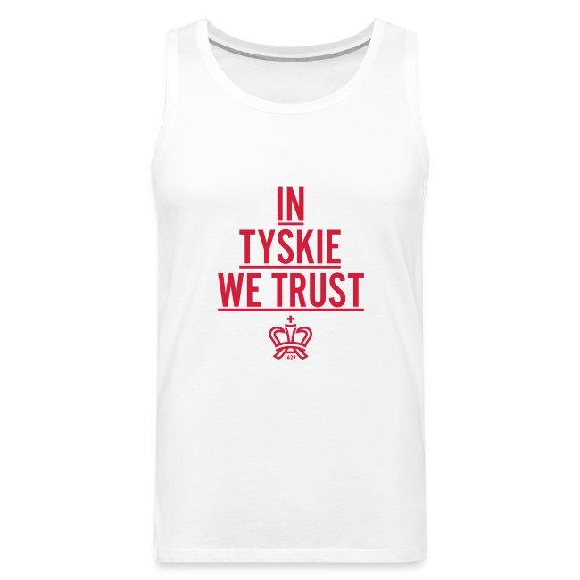 In Tyskie we trust Tank Top (weiß/Männer)