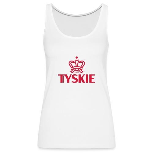 Tyskie Top (weiß/Frauen) - Frauen Premium Tank Top