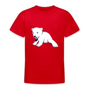Polar-Bär-Motiv auf Kinder-T-Shirt - Teenager T-Shirt