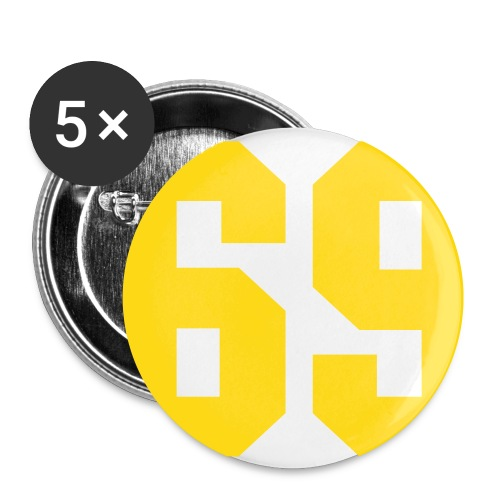 -PACK DE 5- Not a sexual glandeur ... - Badge petit 25 mm
