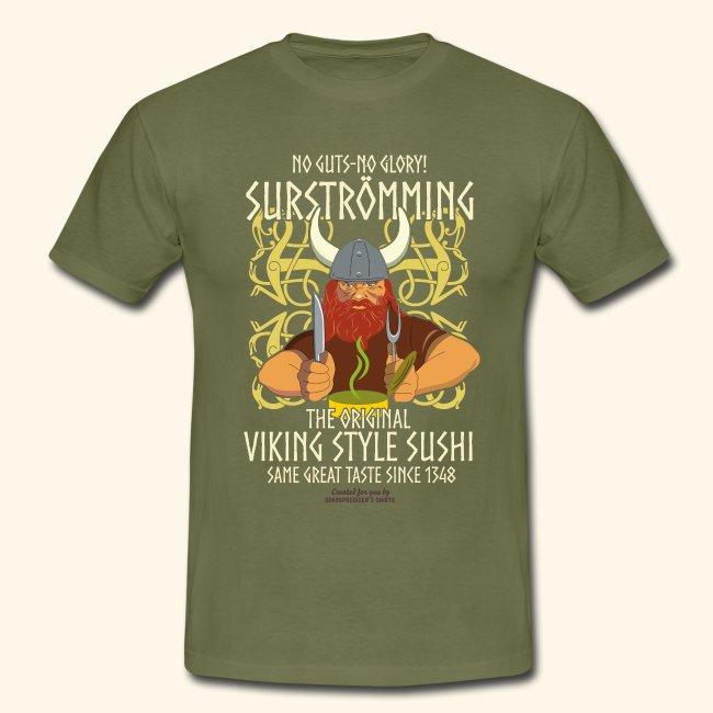 Surströmming T Shirt Viking Sushi