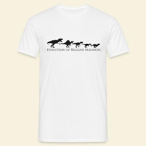 Evolution of Belgian Malinois - Männer T-Shirt