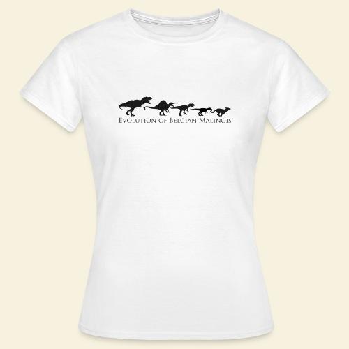 Evolution of Belgian Malinois - Frauen T-Shirt
