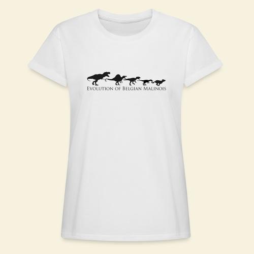 Evolution of Belgian Malinois - Frauen Oversize T-Shirt