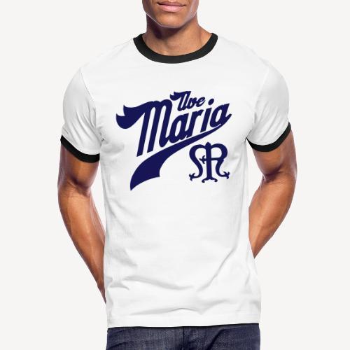 AVE MARIA - Men's Ringer Shirt