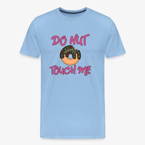 Männer Premium T-Shirt Donut touch me - Männer Premium T-Shirt