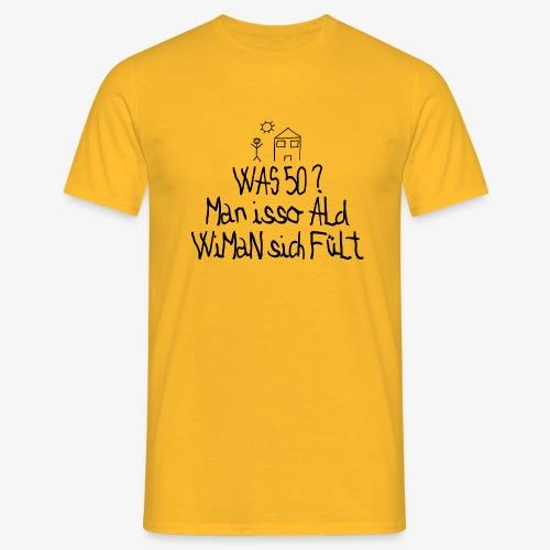 Männer T-Shirt 50 Jahre alt - Männer T-Shirt