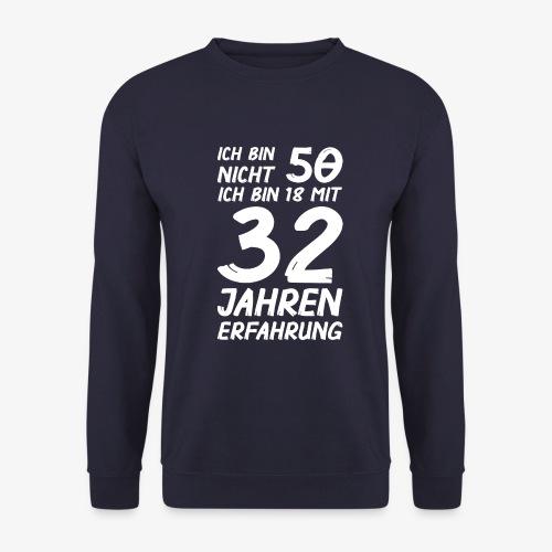 Männer Pullover ich bin nicht 50 - Männer Pullover