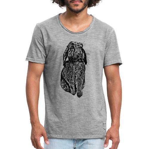 Bunny Love - Männer Vintage T-Shirt