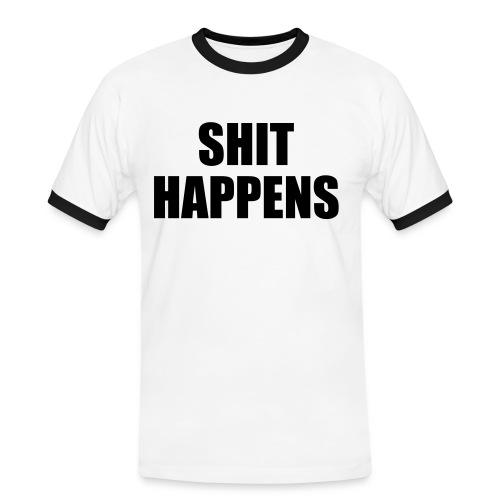 Shit Happens - Men's Ringer Shirt