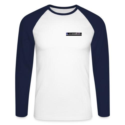 ASTROCOHRS Shirt Langarm blau - Männer Baseballshirt langarm