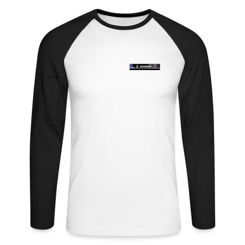 ASTROCOHORS Shirt Langarm schwarz - Männer Baseballshirt langarm