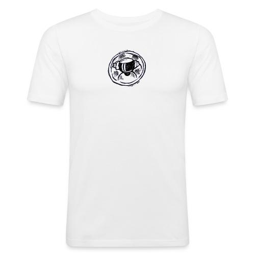 Slim Fit T 2019 Logo! - Men's Slim Fit T-Shirt