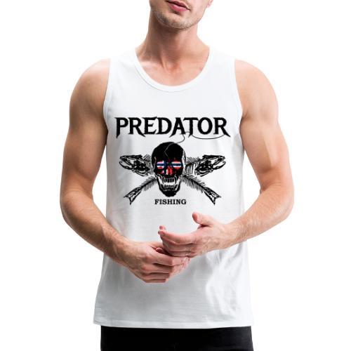 Angler T-Shirt - Männer Premium Tank Top