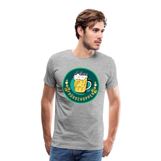 Premium Shirt - I love Frühschoppen (Kerle)