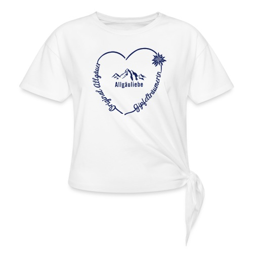 Gipfelträumerin - Knotenshirt