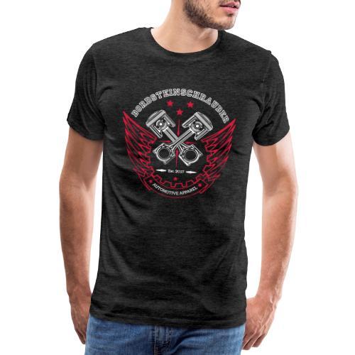 BRDSTN Shirt Kolben Grau - Männer Premium T-Shirt
