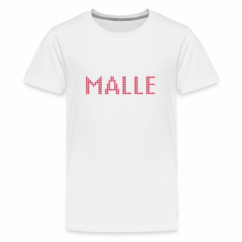 Produktvorschlag: MALLE, Pixellamb ™ - Teenager Premium T-Shirt