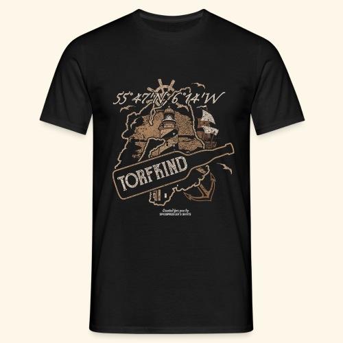 Whisky T Shirt Torfkind für Islay Fans - Männer T-Shirt