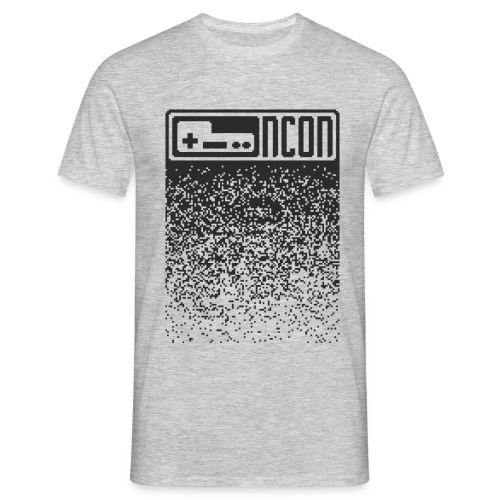 NCON Männer Shirt - pixel dark - Männer T-Shirt