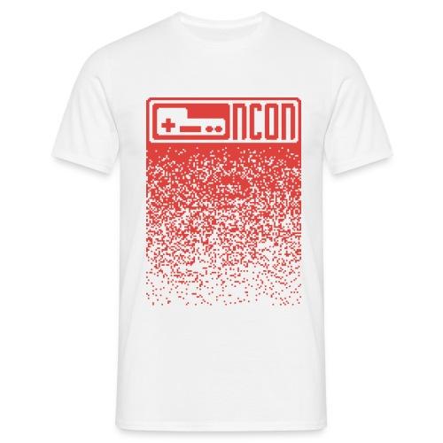 NCON Männer Shirt - pixel red - Männer T-Shirt