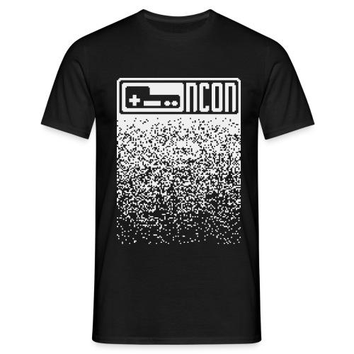 NCON Männer Shirt - pixel light - Männer T-Shirt