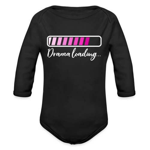 Drama Loading Baby Body - Baby Bio-Langarm-Body