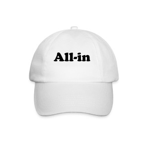 Cap - All-in - Baseballcap
