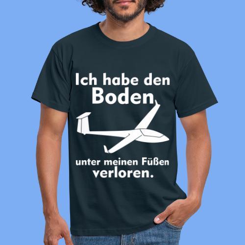 Boden unter meinen Füßen verloren -  Segelflieger Bekleidung von segelfliegen-tshirts.de - Männer T-Shirt