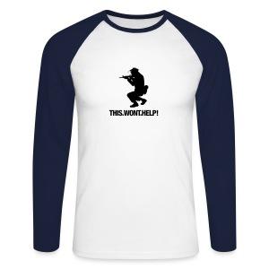 Longsleeve shirt - Mannen baseballshirt lange mouw